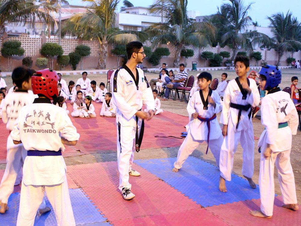 Best Taekwondo Academy Karachi, Prince Taekwondo Training